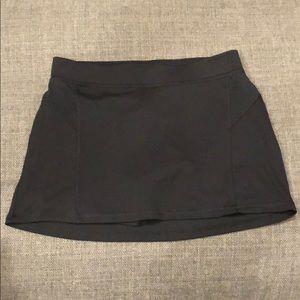 Black Tennis Skort